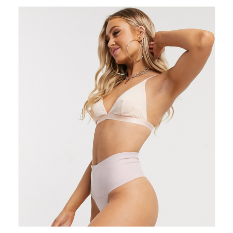 Spanx Exclusive undie-tectable smoothing thong in ballet pink