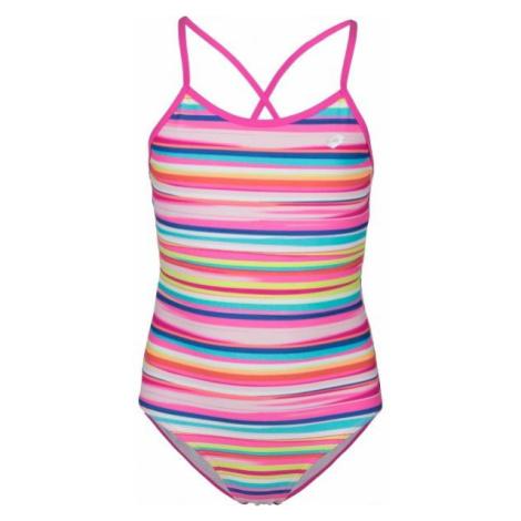Lotto VILA oranžová - Dívčí jednodílné plavky