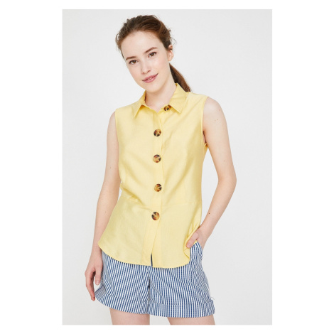 Koton Woman Yellow Shirt