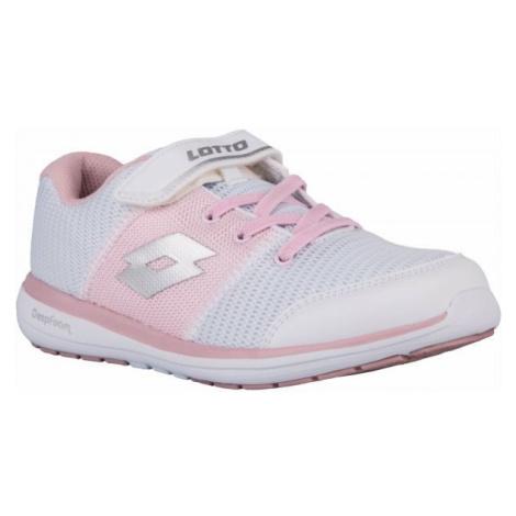Lotto CITYRIDE EVO AMF CL SL bílá - Dětská volnočasová obuv