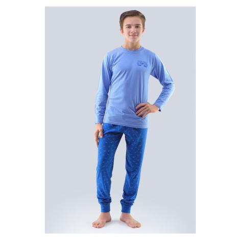 Chlapecké pyžamo Atlantic světle modré Gina