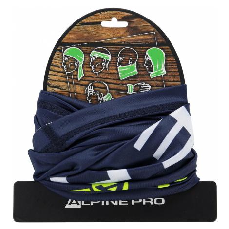 """Šátek """"roura"""" 5v1 Alpine Pro RAHUL 3 - tmavě modrá"""