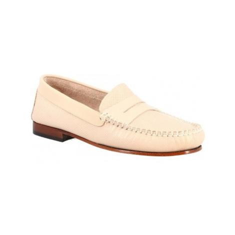 Leonardo Shoes 2591 CRUST NUDE Růžová