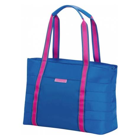 American Tourister Cestovní taška Uptown Vibes 15,5 l 14.1'' - modrá