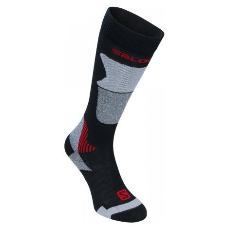 Ponožky Salomon Isar - černá /44