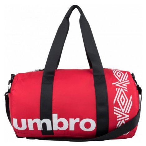 Umbro PADDED RIPSTOP BARREL BAG červená - Sportovní taška