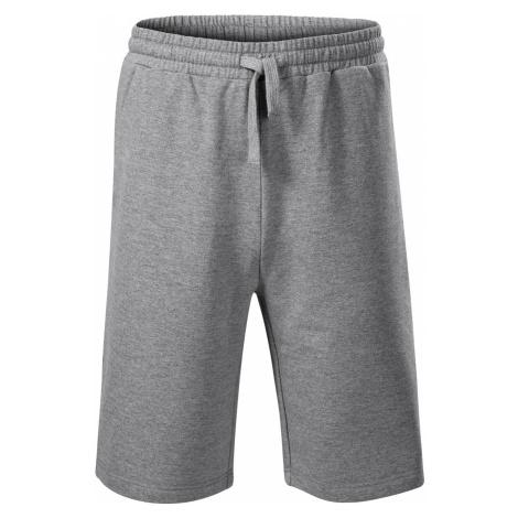 Malfini Comfy Pánské šortky 61112 tmavě šedý melír