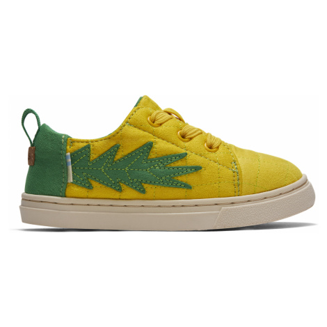 GLD PINEAPPLE QULTED TN LENEL SNEAK Toms