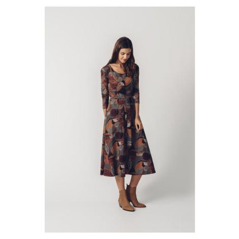 SKFK barevné šaty Espe