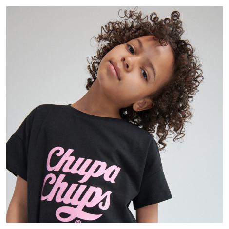 Reserved - Tričko s potiskem Chupa Chups - Černý