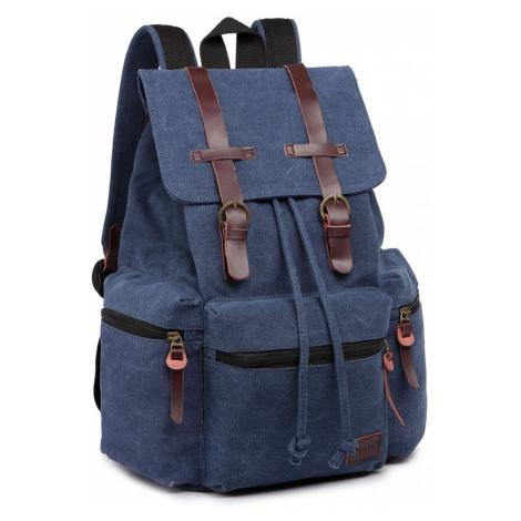 Modrý praktický kvalitní batoh Gotlen Lulu Bags