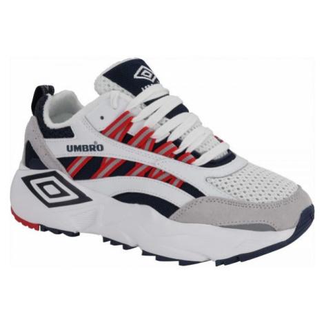 Umbro NEPTUNE bílá - Pánská volnočasová obuv