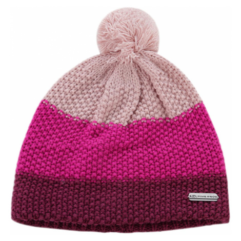 Dětská čepice Alpine Pro TANAKIL 2 - tmavě fialová
