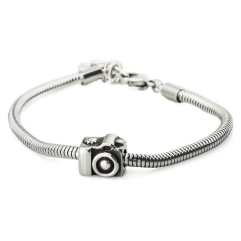 Linda's Jewelry Náramek Fotoaparát - Foťák chirurgická ocel INR062