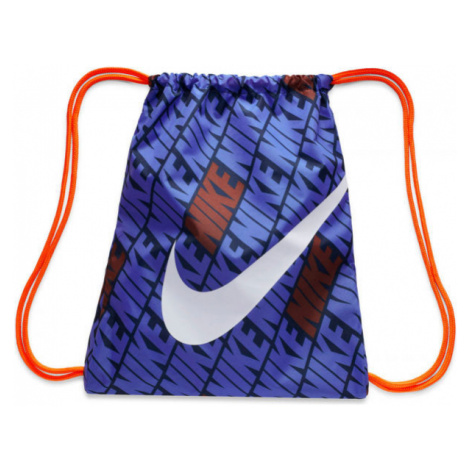 Nike KIDS PRINTED GYM SACK tmavě modrá - Dětský gymsack