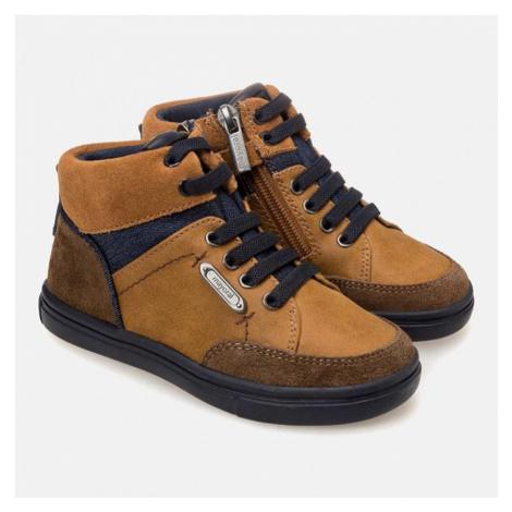 Chlapecká, kotníková obuv MAYORAL 440830 | hnědá