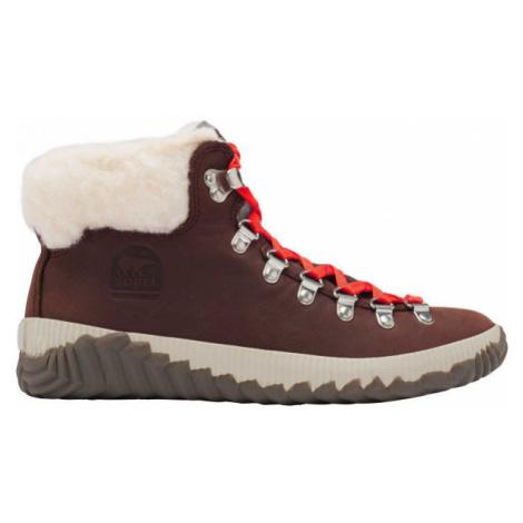 Sorel OUT N ABOUT PLUS CONQUES červená - Dámská zimní obuv