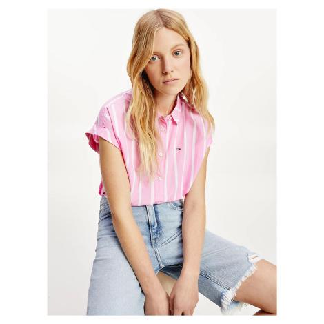 Tommy Jeans dámská košilová halenka Tommy Hilfiger
