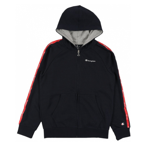 Champion Authentic Athletic Apparel Mikina 'Hooded Full Zip' modrá