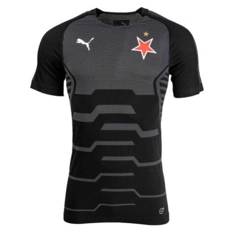 Puma SLAVIA FINAL EVOKNIT GK černá - Pánské brankářské triko
