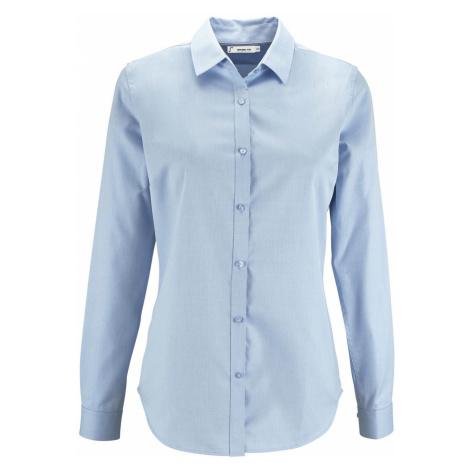 SOĽS Dámská košile s dlouhým rukávem BRODY WOMEN 02103220 Sky blue SOL'S