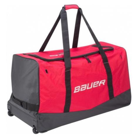 Bauer 17656 CORE WHEELED BAG SR červená - Hokejová taška