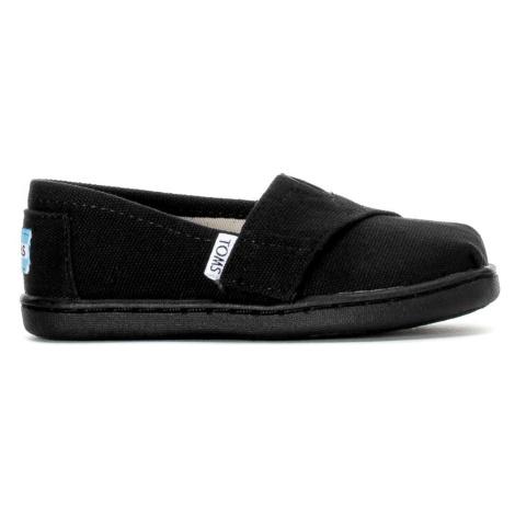 CLASSIC-Black Canvas TINY Toms