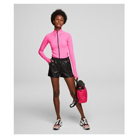 Šortky Karl Lagerfeld Rue St-Guillaume Jogging Short - Černá
