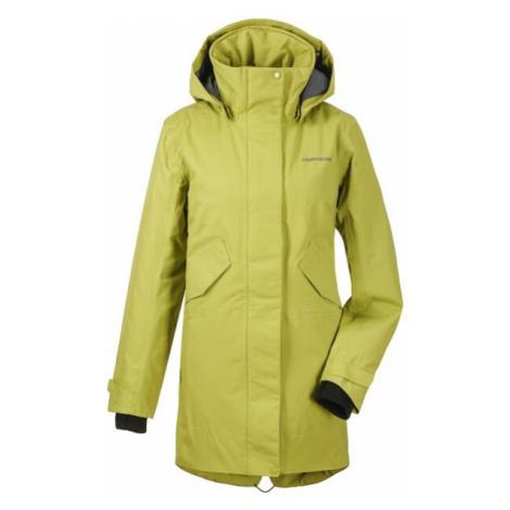 Dámský kabát Didriksons Tanja sv. zelená