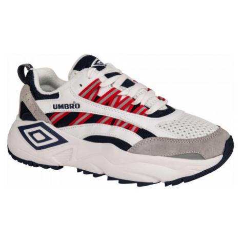 Umbro NEPTUNE LE bílá - Pánská volnočasová obuv