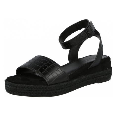 ESPRIT Páskové sandály 'Heli' černá