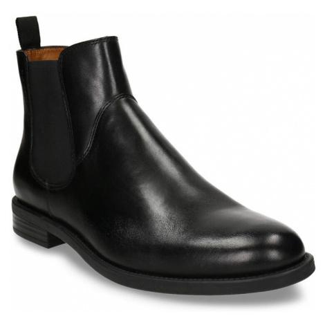 Černá pánská kožená Chelsea obuv Vagabond