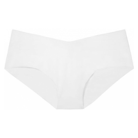 Victorias Secret bílé bezešvé kalhotky No-show Hiphugger Victoria's Secret