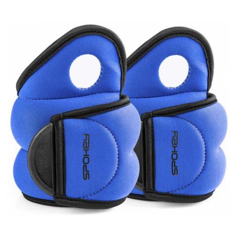 Spokey COM FORM IV Závaží na zapěstí 2 x 1,5kg modré