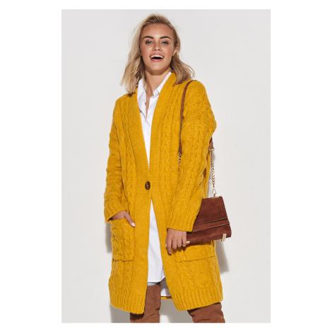 Žlutý svetr S103 Makadamia