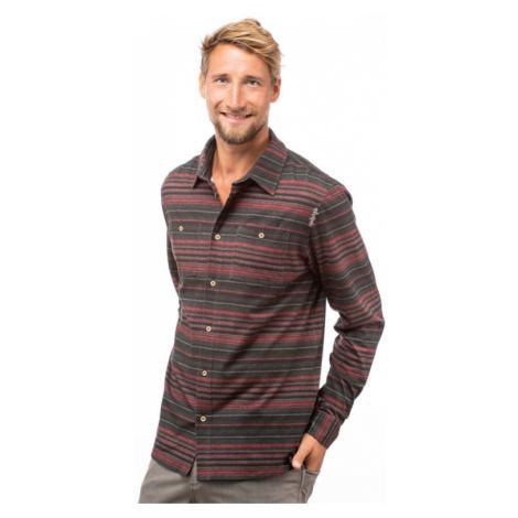 Pánská košile CHILLAZ Sebastian black/red