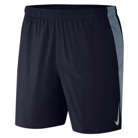 Nike CHLLGR SHORT 7IN 2IN1 M modrá - Pánské běžecké kraťasy