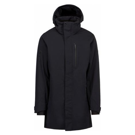 Prošívaný kabát Descente PRESTON černá