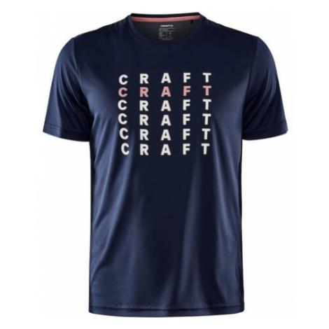 Pánské tričko CRAFT Core Charge tm. modrá