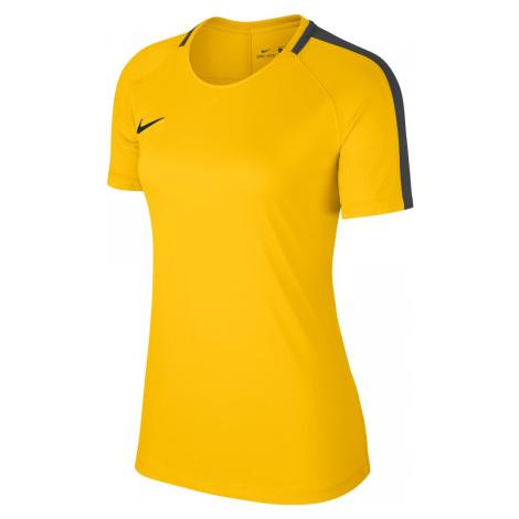 Dámský tréninkový dres Nike Academy 18 Žlutá / Černá