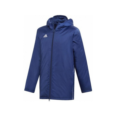Adidas Bunda Core 18 Stadium Modrá