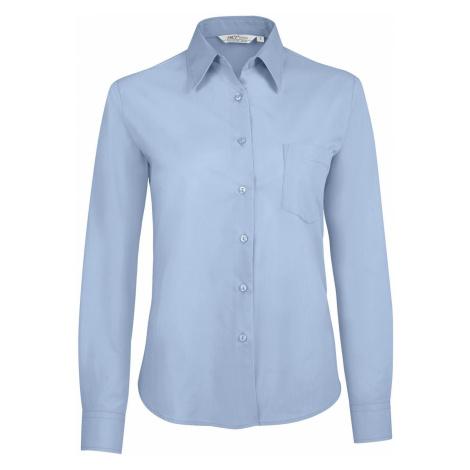 SOĽS Dámská košile EXECUTIVE 16060220 Sky blue SOL'S