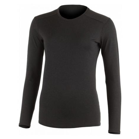 Dámské vlněné Merino triko LADA 160g - černé Lasting