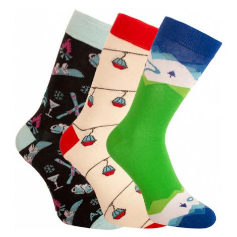 3PACK ponožky crazy Bellinda vícebarevné (1004-305 B) M