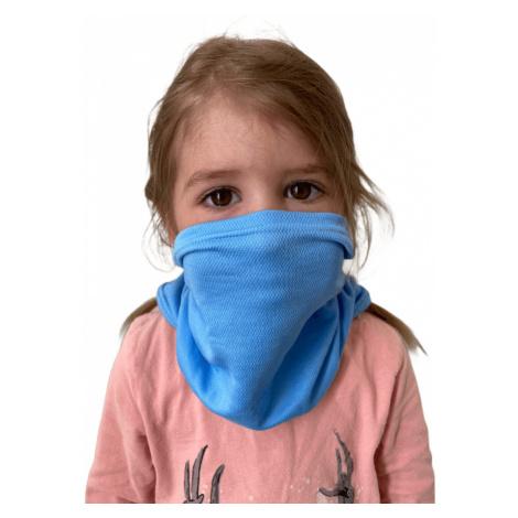 NanoBodix® AG-TIVE multifunkční šátek - dětský Modrá Dětské