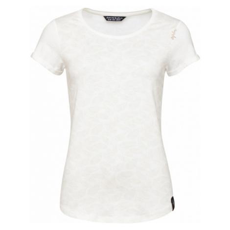 Dámské triko Chillaz Ötztal Feather Ornament T-Shirt creme