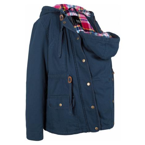 Těhotenská bunda se vsadkou na miminko Bonprix