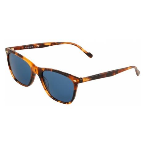 VOGUE Eyewear Sluneční brýle medová / hnědá / modrá