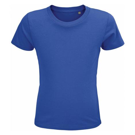 SOLS Dětské triko CRUSADER KIDS 03580241 Royal blue SOL'S