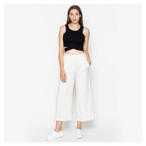 Kalhoty Pirie stripe white Wemoto